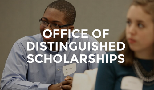 Logo for Office of Distinguished Scholarships